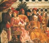 Andrea Mantegna, Der Hof, Mantua, Herzogspalast, Gemach der Eheleute.