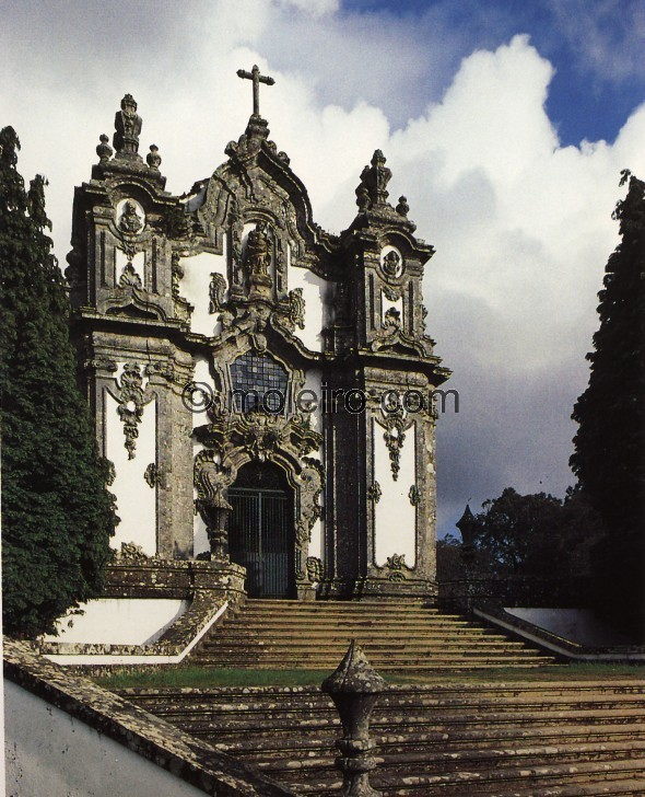 Church of Falperra, near Bom Jesus do Monte, Braga, Portugal. By André Soares, 1753-1755, El Arte Barroco en Españ...