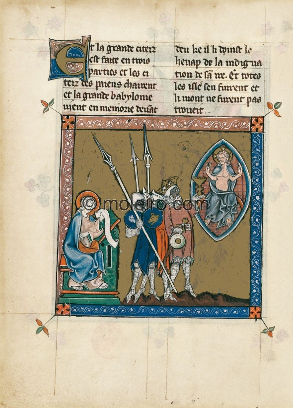 f. 52v, Apocalipse 1313