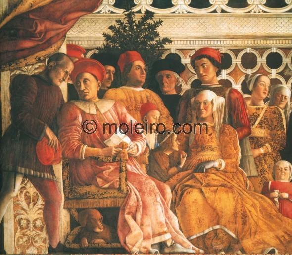 Andrea mantegna la corte mantua palacio ducal c mara - Mantua bagni catalogo ...