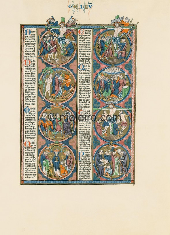 vol.3, f. 64r, The Bible of St Louis