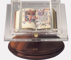 Display bookrest for small codices