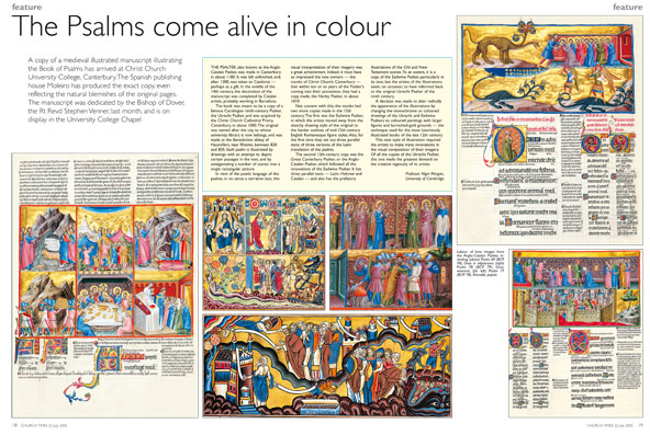 The Psalms come alive in colour