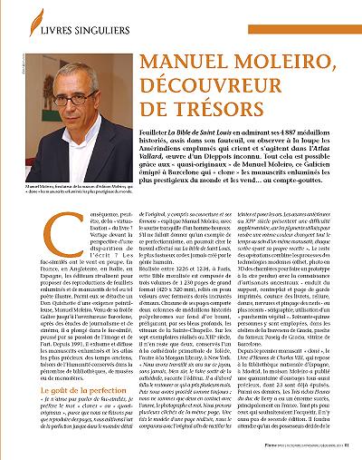 Manuel Moleiro, découvreur de trésors