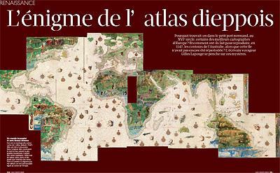 L'énigme de l'atlas dieppois