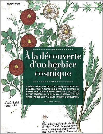 À la découverte d'un herbier cosmique