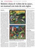 """Moleiro clona el """"Libro de la caza"""", un manual con más de seis siglos"""