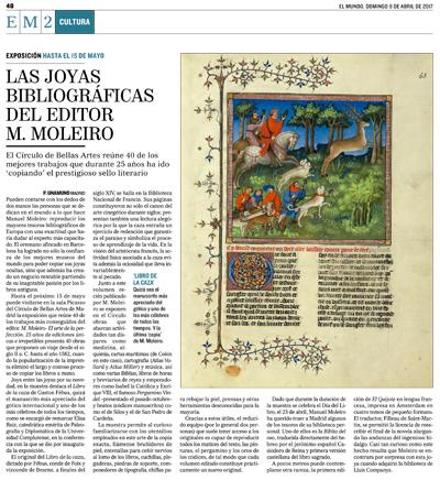 Las joyas bibliográficas del editor M. Moleiro