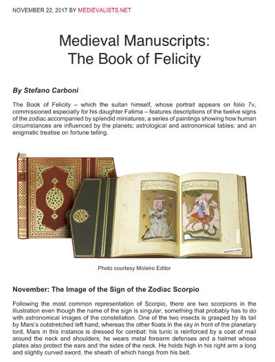 The Book of Felicity