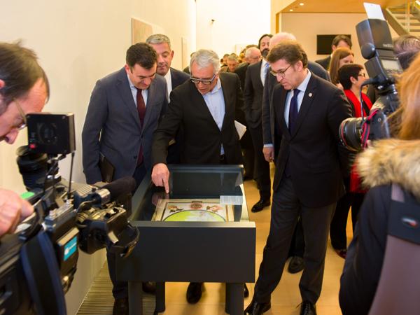 El Presidente de la Xunta de Galicia inaugura la exposición Tesoros ocultos
