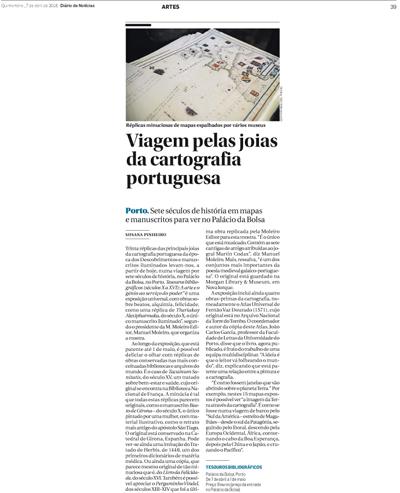 Viagem pelas joias da cartografia portuguesa