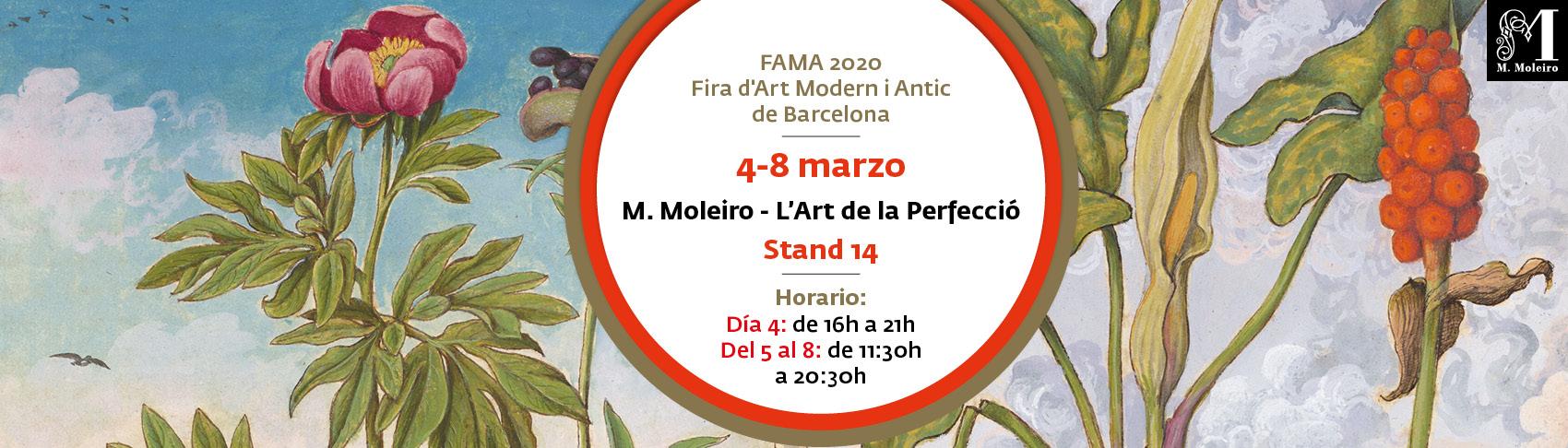 FAMA 2020 Fira d´Art Modern i Antic de Barcelona del 4 al 8 de marzo
