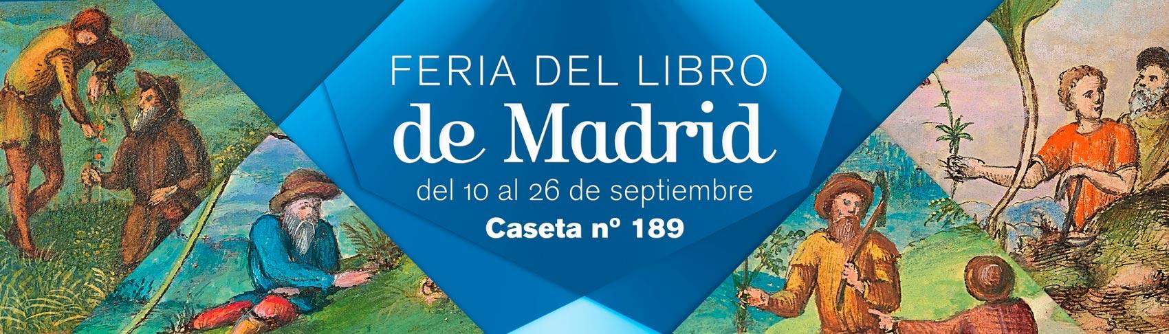 Feria del Libro de Madrid. Del 10 al 26 de septiembre. Caseta 189