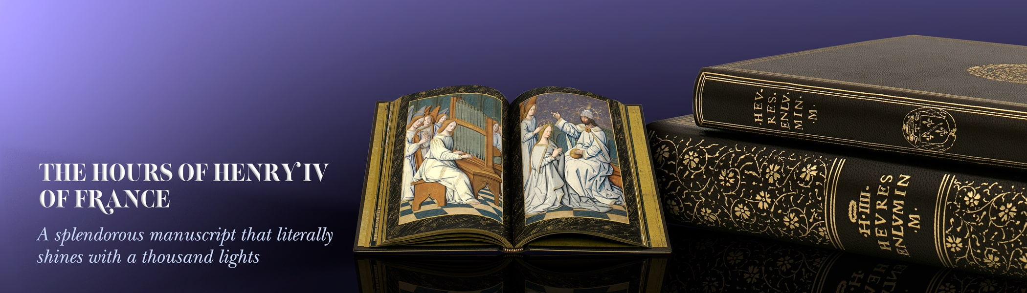 The Hours of Henry IV of France is a splendorous manuscript that literally shines with a thousand lights