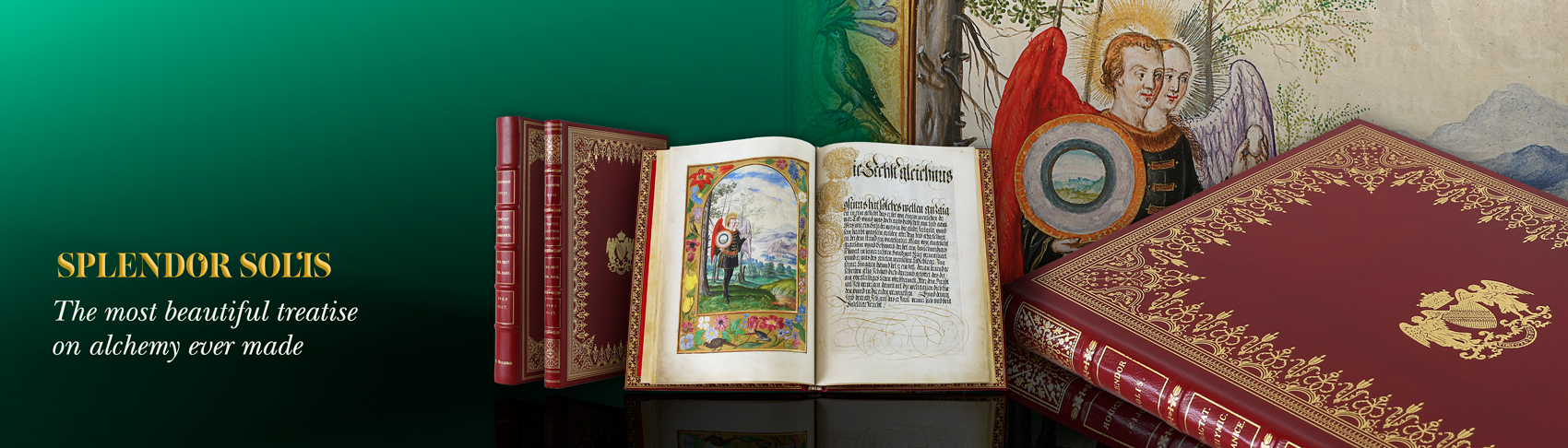 Splendor Solis from the British Library is considered the most beautiful treatise on alchemy ever made.