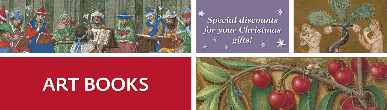 Art Books - Special discounts for your Christmas gifts!