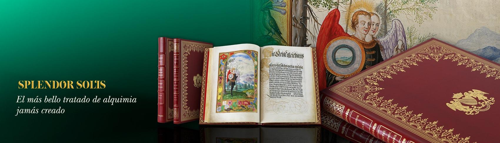 Splendor Solis, British Library es el más bello tratado de alquimia. Atribuido Salomón Trismosin - Ulrich Poysel maestro Paracelso