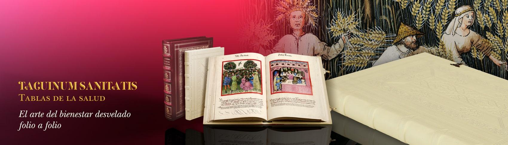 Tacuinum Sanitatis tratado medieval sobre el bienestar y la salud. El Arte del bienestar desvelado en un códice medieval.