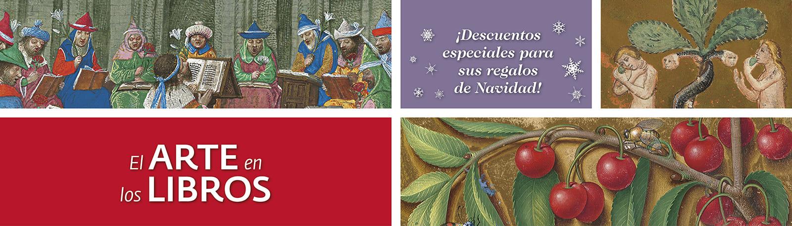 El Arte en los Libros - ¡Descuentos especiales para sus regalos de Navidad!