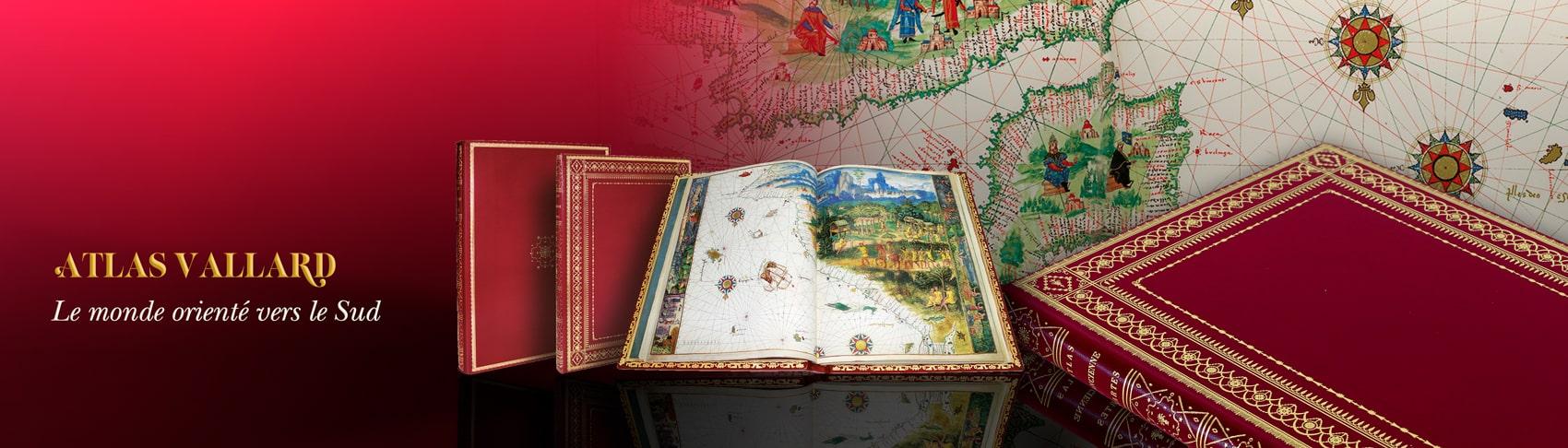 Atlas Vallard, le monde orienté vers le Sud