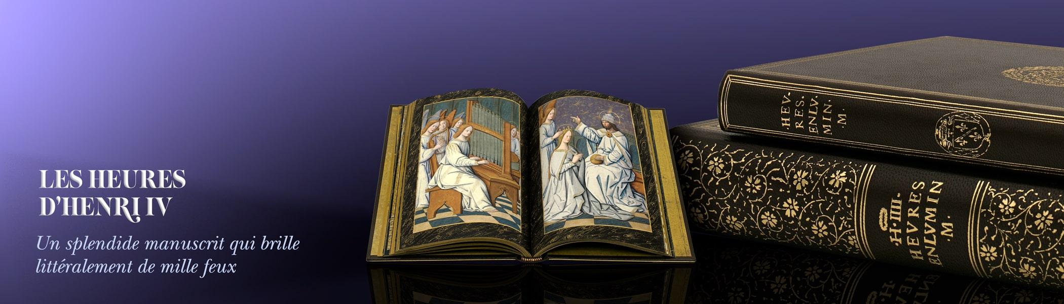 Un manuscrit éblouissant qui brille de mille feux