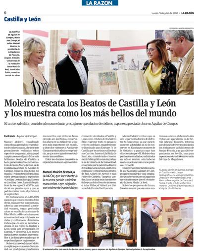 Moleiro rescata los Beatos de Castilla y León