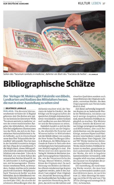 Bibliographische Schätze