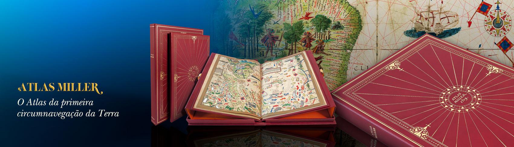 O Atlas da primeira circumnavegação da Terra